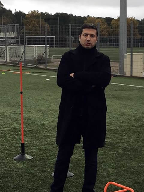 Djamel BARATTE observateur département de l'Hérault potentiel foot